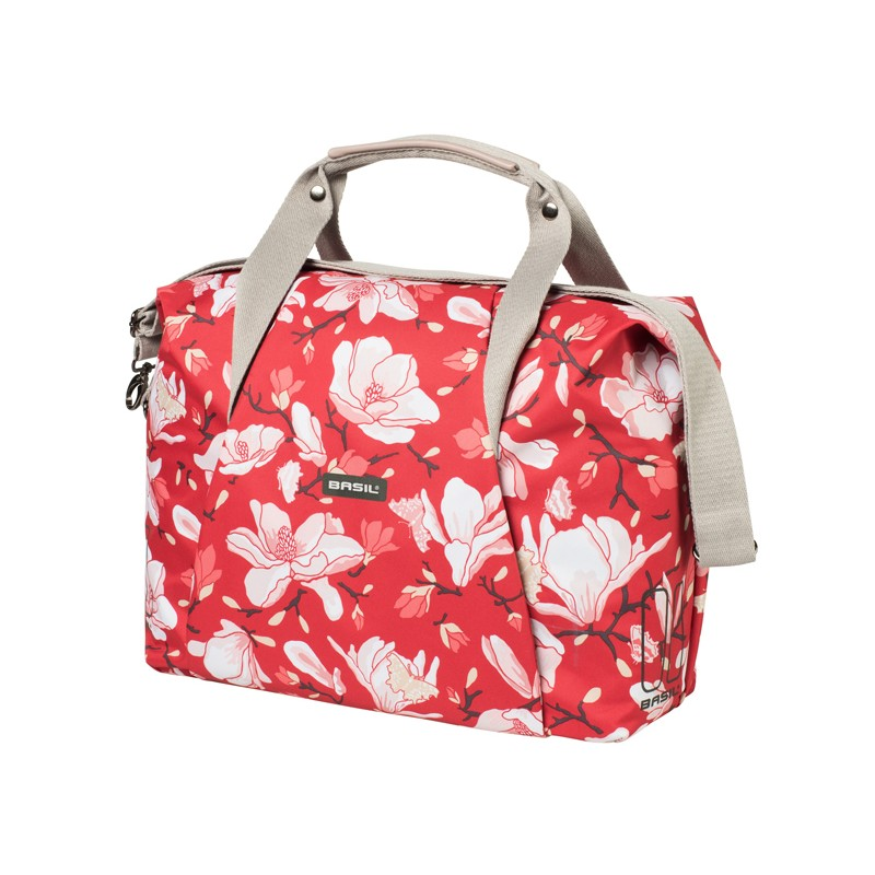 BASIL MAGNOLIA TORBA CARRY ALL BAG, 18L, poppy red