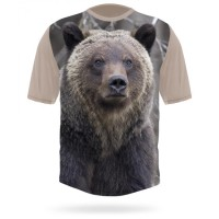 Hillman t-shirt 3D Grizzly 10016