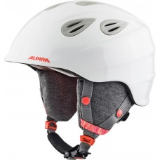 ALPINA KASK ZIMOWY GRAP 2.0  JUNIOR WHITE-FLAMING 54-57 new 2019
