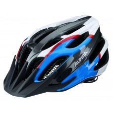 ALPINA KASK FB JUNIOR 2.0  FLASH ANTHRCITE -BLUE-RED-WHITE 50-55