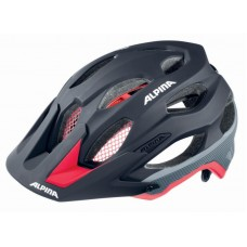 ALPINA KASK CARAPAX BLACK-RED-DARK-SILVER 53-57