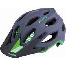 ALPINA KASK CARAPAX CHARCOAL-GREEN 52-57 new 2018