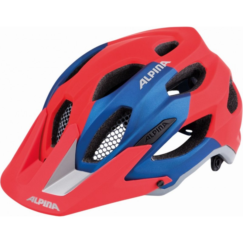 ALPINA KASK CARAPAX RED-BLUE 52-57 new 2018