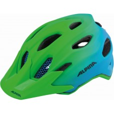 ALPINA KASK CARAPAX  JR  FLASH GREEN-BLUE 51-56 new 2018
