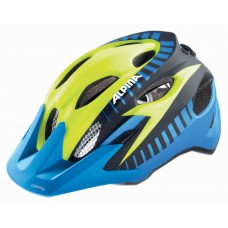 ALPINA KASK CARAPAX  JR  FLASH BLUE-YELLOW-BLACK 51-56