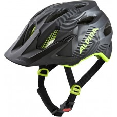 ALPINA KASK CARAPAX  JR BLACK-NEON-YELLOW 51-56 new 2019