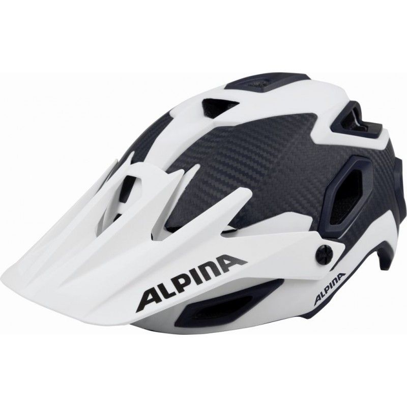 ALPINA KASK ROOTAGE WHITE-CARBON 52-57 new 2018