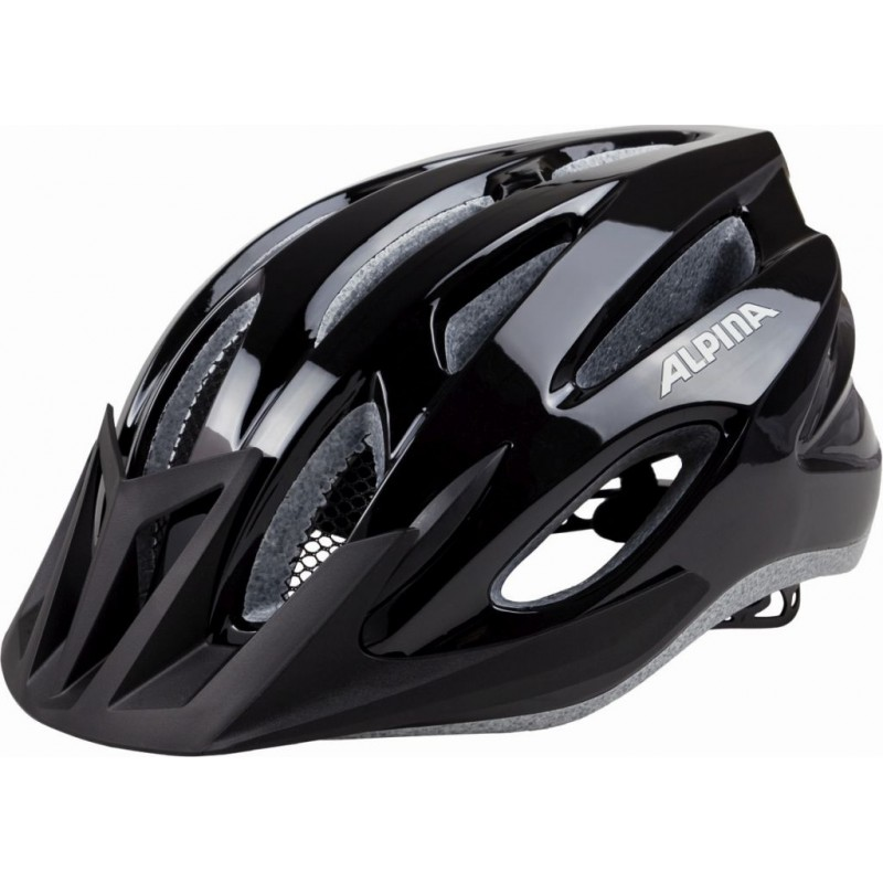 ALPINA KASK MTB17 BLACK 54-58 new 2018