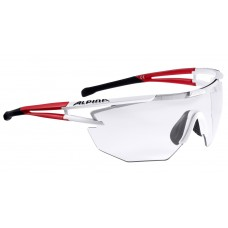 ALPINA OKULARY EYE-5 SHILD VL+ kolor WHITE MATT-RED BLACK szkło BLACK S1-3 FOGSTOP