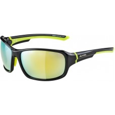ALPINA OKULARY LYRON kolor BLACK-NEON YELLOW szkło YELLOW MIRROR Cat.3 new 2019