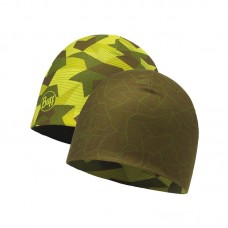 Buff czapka Buff Microfiber Reversible Hat US BLOCK CAMO GREEN