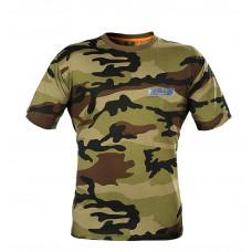 Koszulka myśliwska t-shirt moro z nadrukiem Graff 957-c2